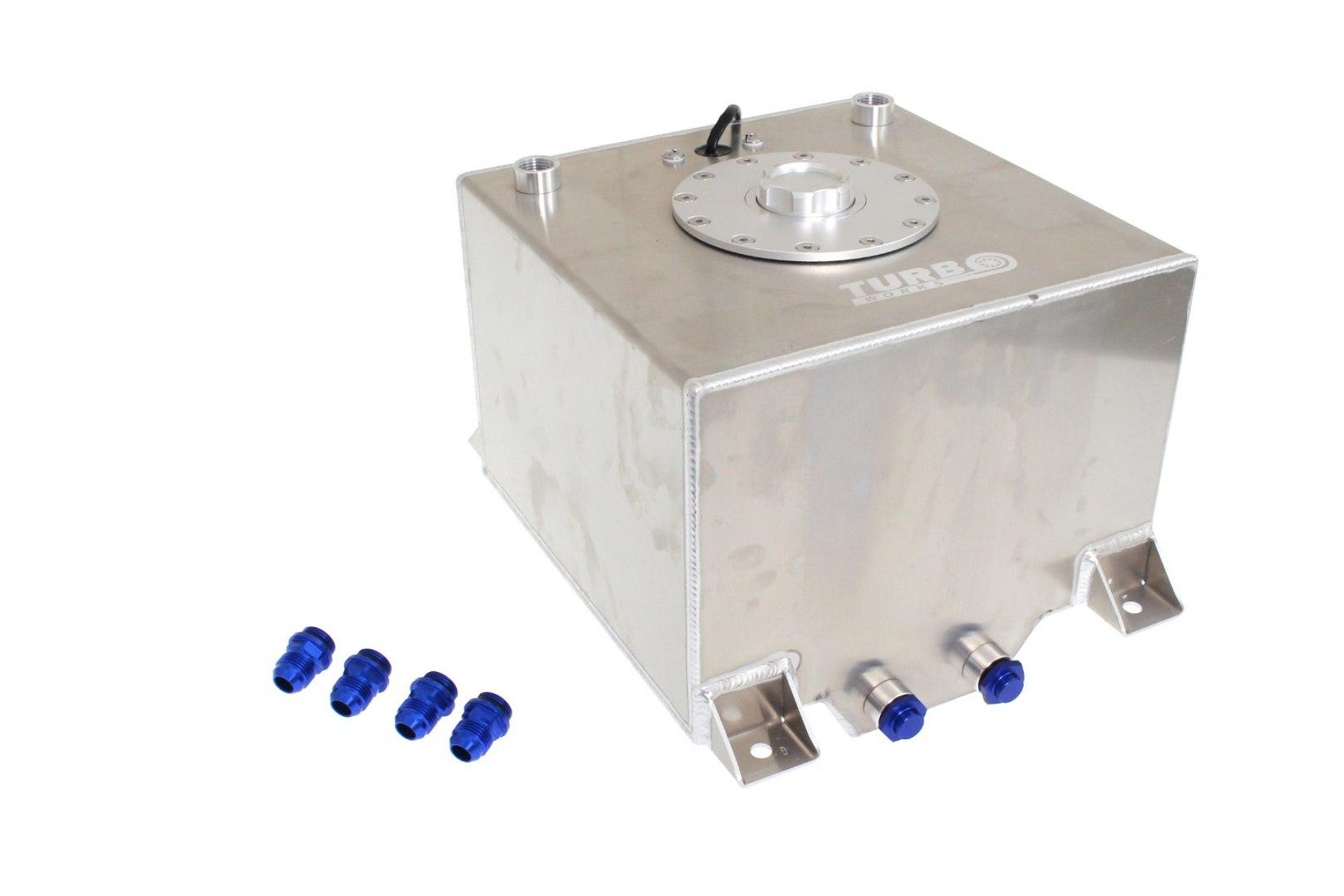 Zbiornik Paliwa Aluminiowy TurboWorks 40L - GRUBYGARAGE - Sklep Tuningowy